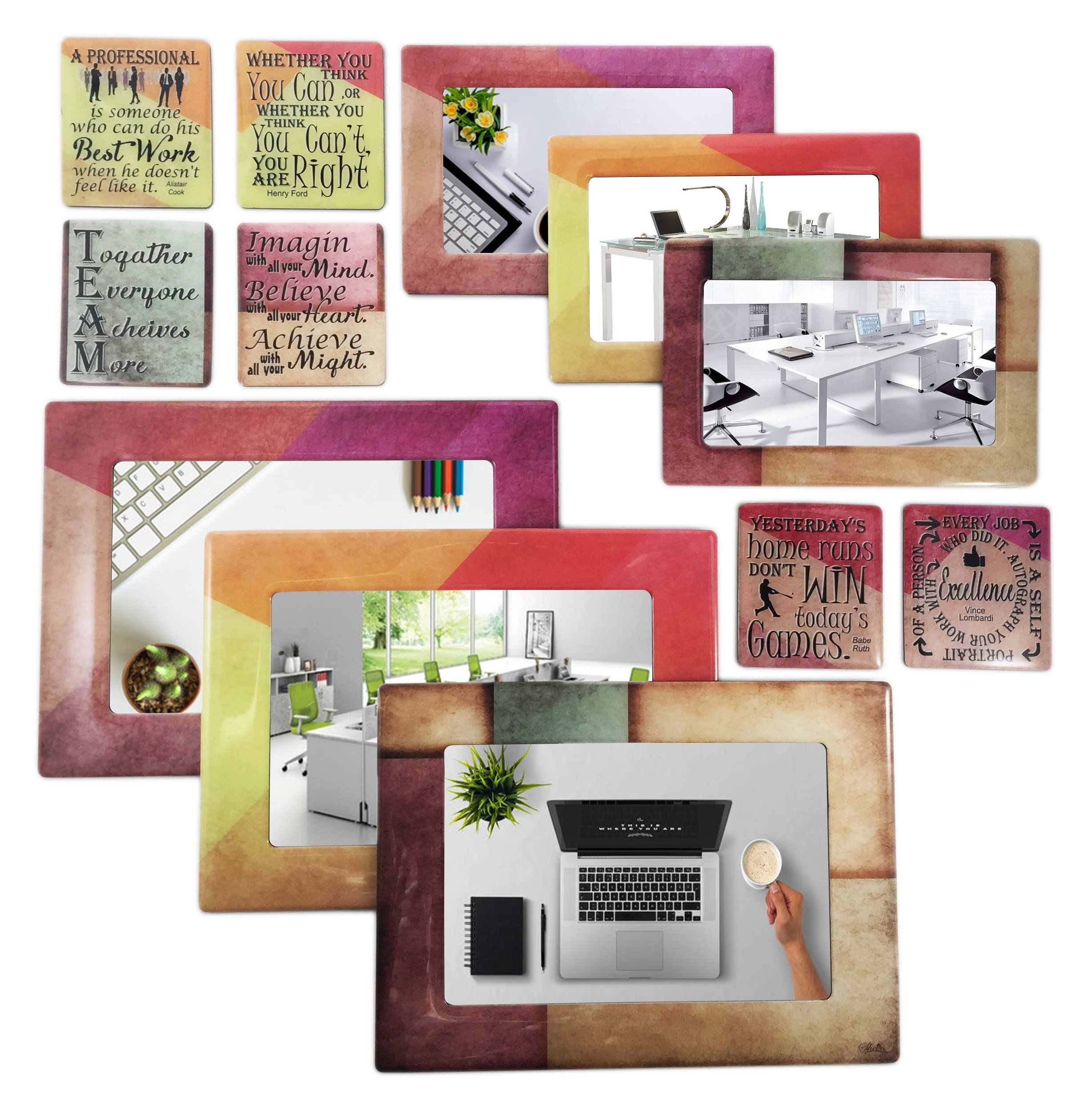 Office / Work Magnetic Picture Frames and Refrigerator Magnets with ...