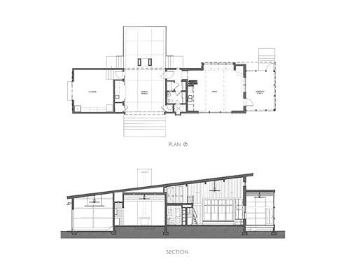 Dogtrot house by waggonner ball architects dog trot for Dogtrot home plans