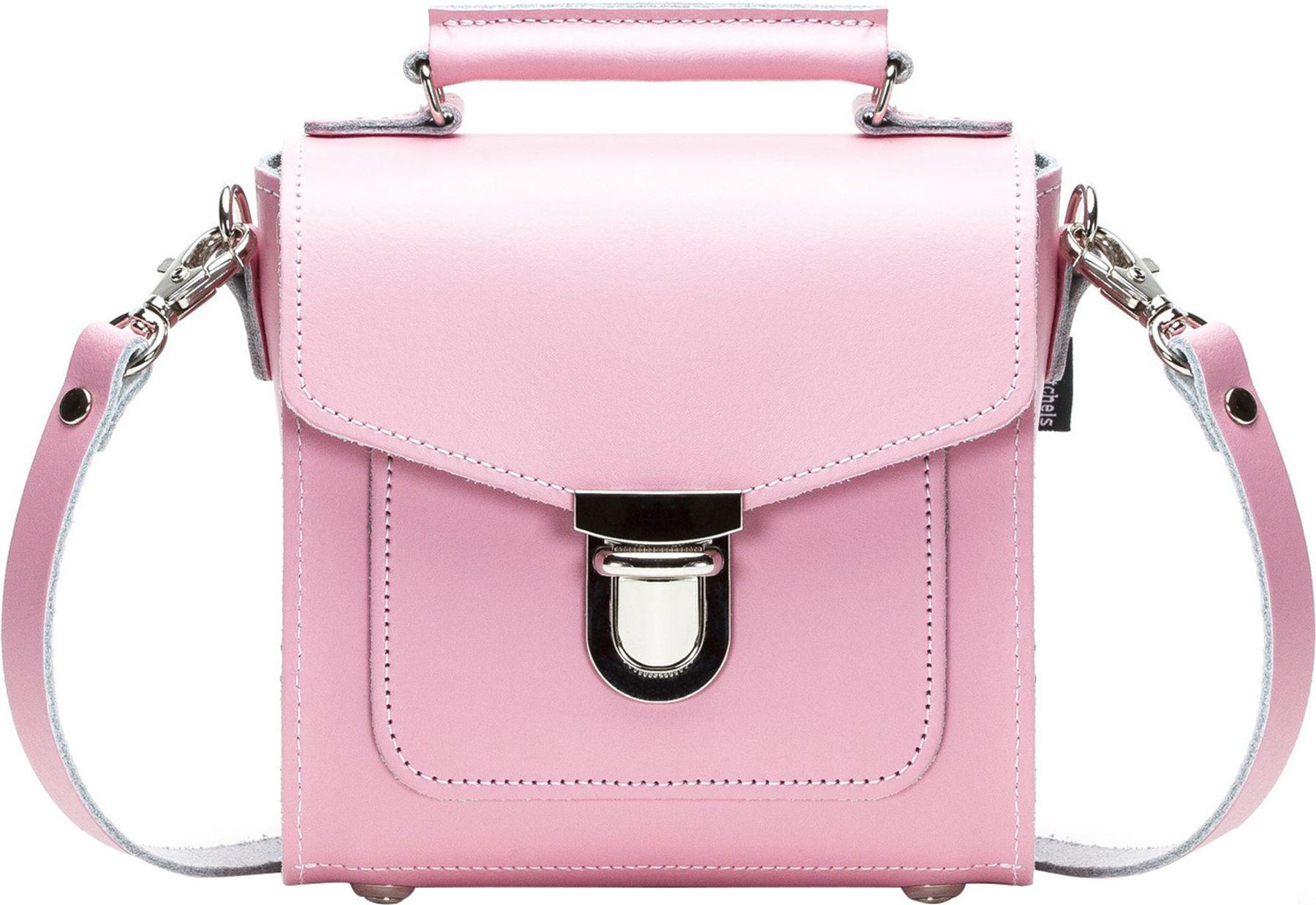 62aab0378dcf Zatchels Women's Handcrafted Pastel Leather Sugarcube Bag (British ...