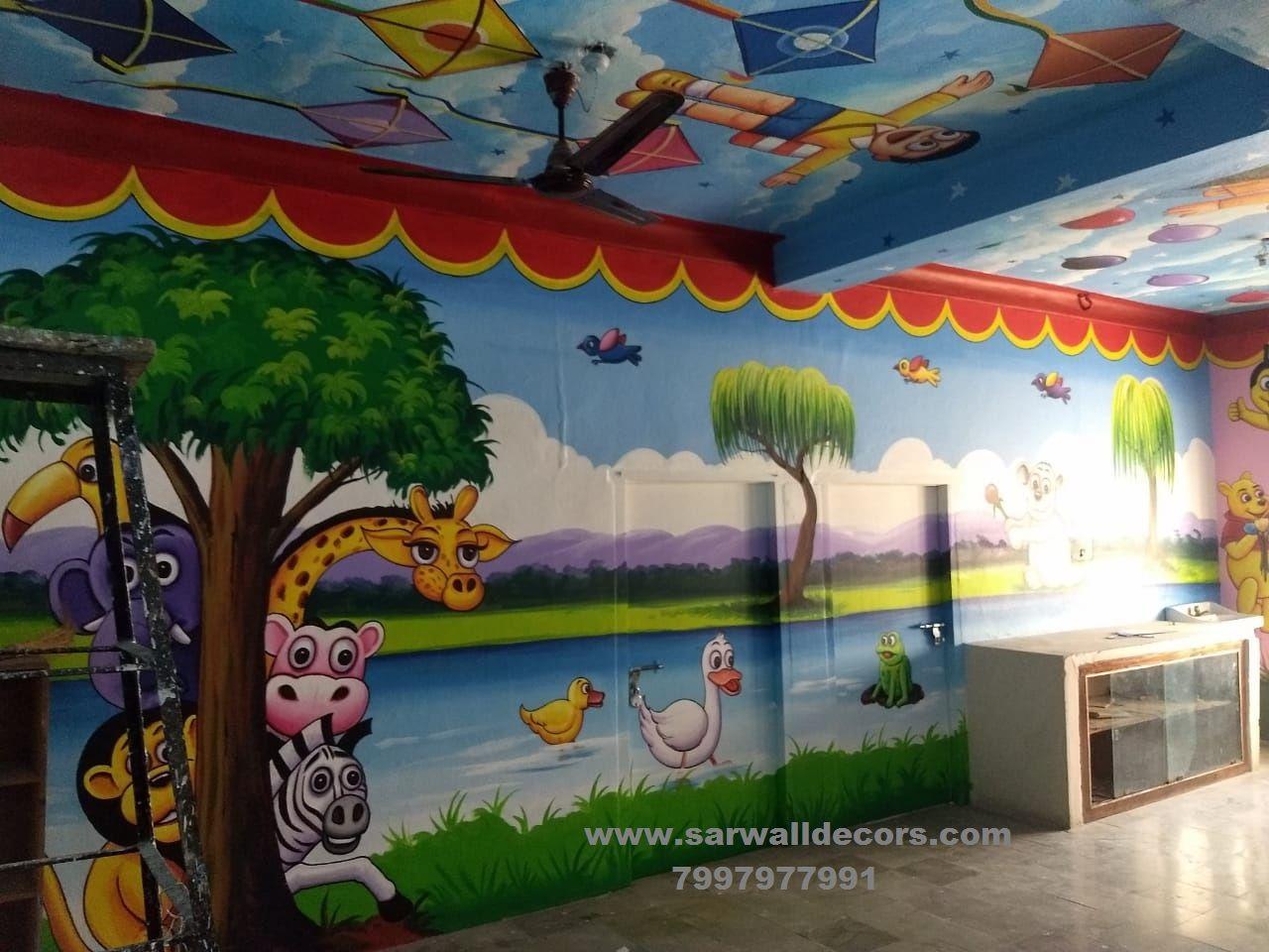 3d Wall Paint Art
