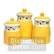 Lemon Kitchen Decor Think I Want These For The