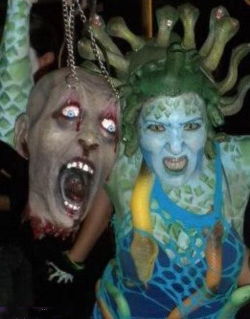scary medusa costume idea for halloween - Medusa Halloween Costume Kids