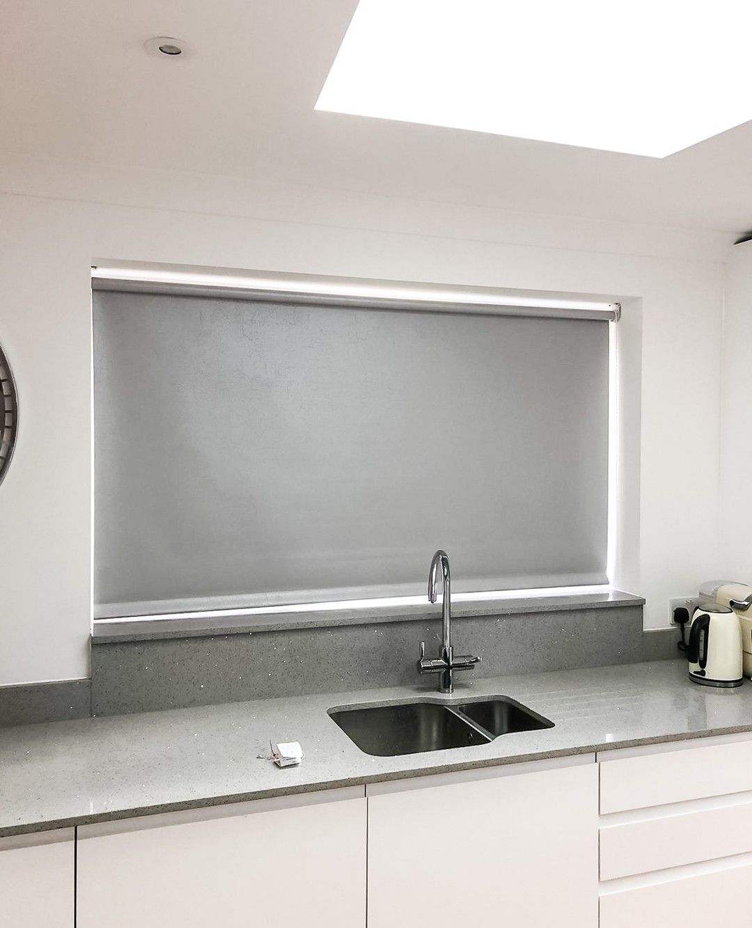 Window Treatments Interiordesign: Our Easicare Roller Blind Range Is Both Fire And Water