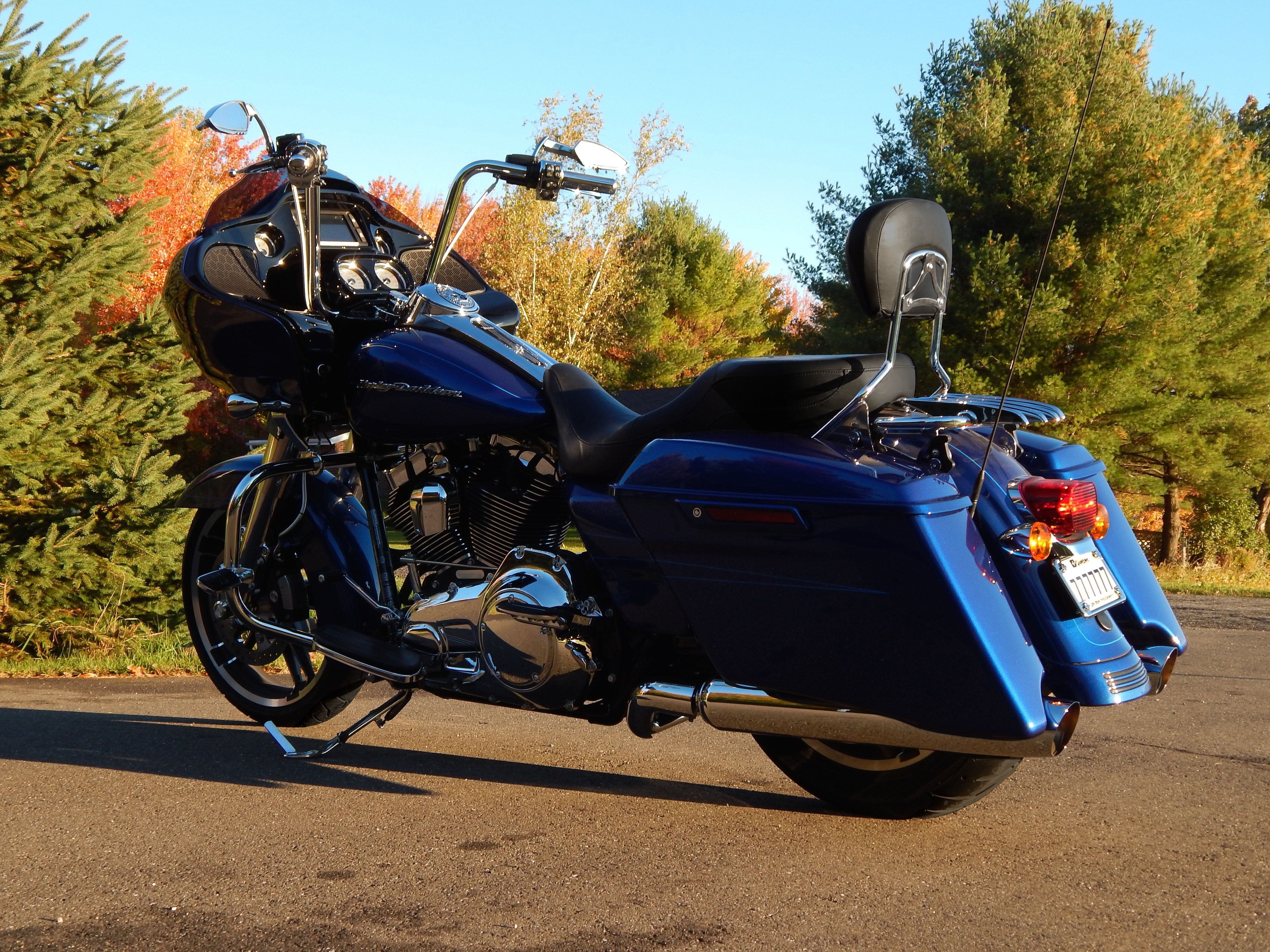 My 2015 road glide special with 14 apes tallboy seat chrome fork and