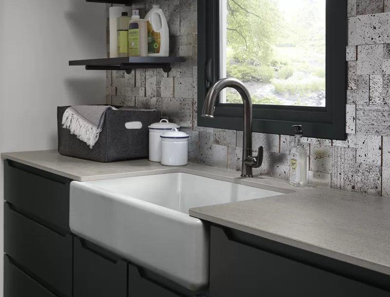 50 Cast Iron Farmhouse Sinks Single Bowl Kitchen Sink Cast