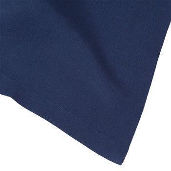 Solid Italian Table Linens | Navy