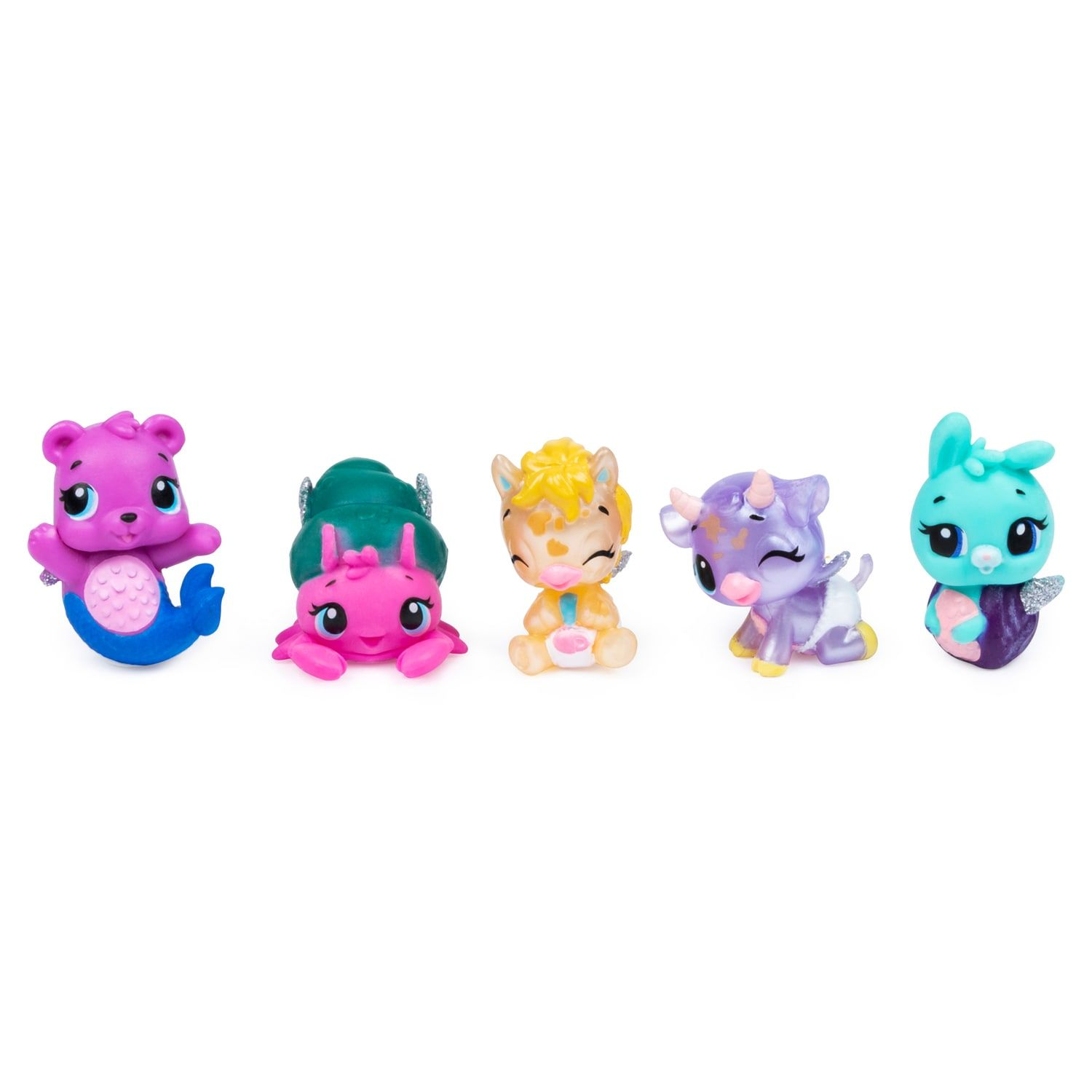 ACTION FIGURES TOYS 18 pack Hatchimals Diamond LYNX Collectors Pack