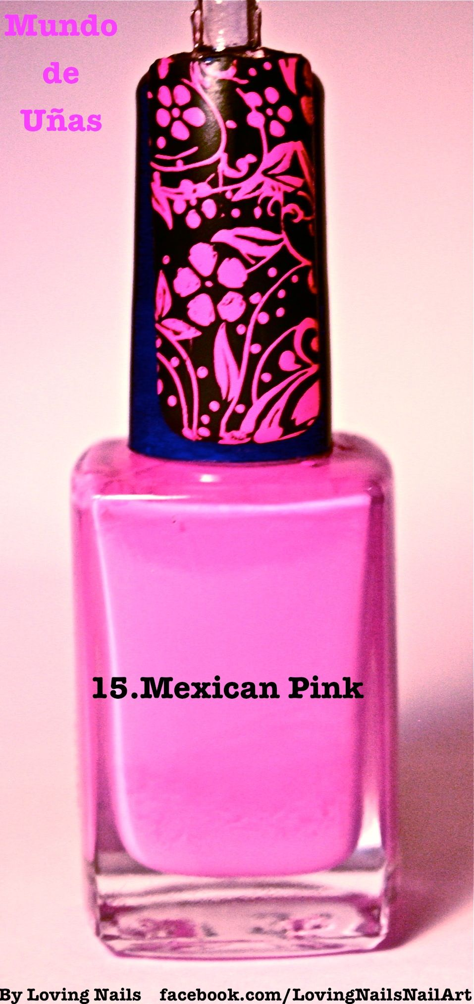 15. Mexican Pink   Mundo de uñas Stamping Polish   Pinterest   Pink ...