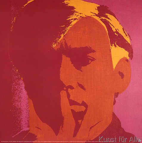 kunstdruck poster self portrait 1966 von andy warhol bilder. Black Bedroom Furniture Sets. Home Design Ideas