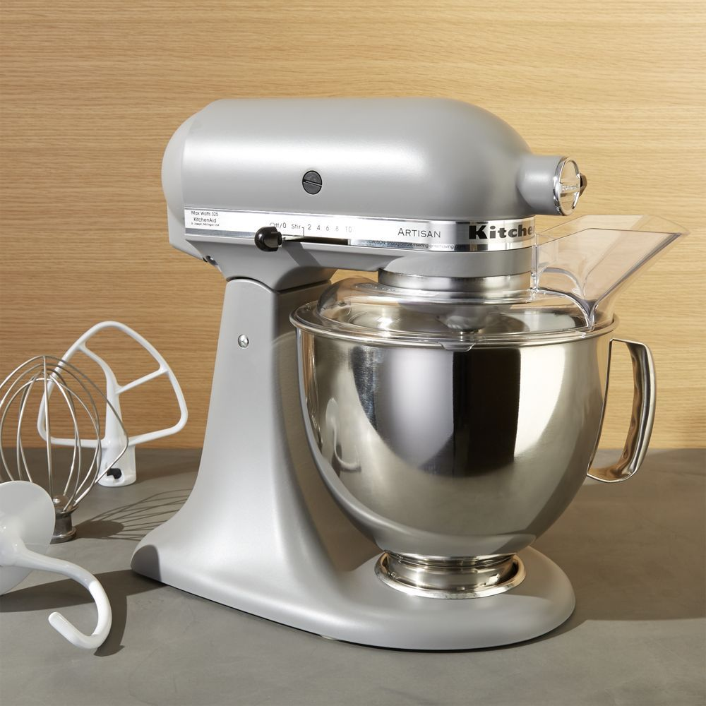 Kitchenaid artisan matte grey stand mixer reviews