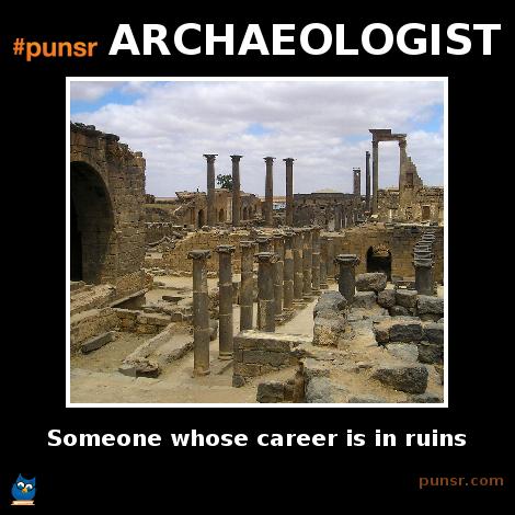 Archaeologist Archeologist History Humor Anthropology Major