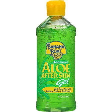 Banana Boat Soothing Aloe After Sun Gel With Aloe Vera 16 Oz Walmart Com Banana Boat Aloe Vera Gel Sun Lotion