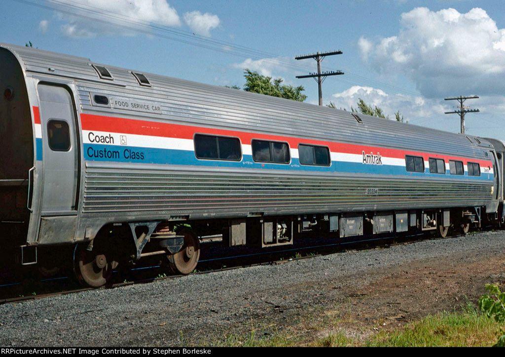 Amtrak 20234. Amfleet II Amtrak, Train
