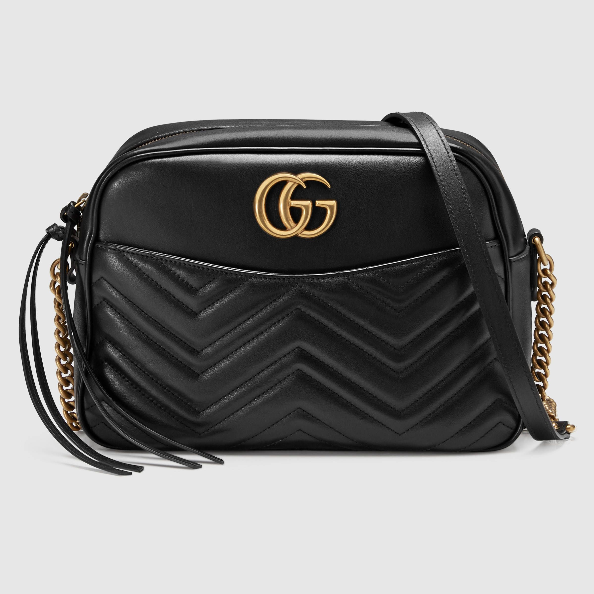 c7b8fa4404307 Gucci Women - GG Marmont matelassé shoulder bag - 443499DRW1T1000 ...