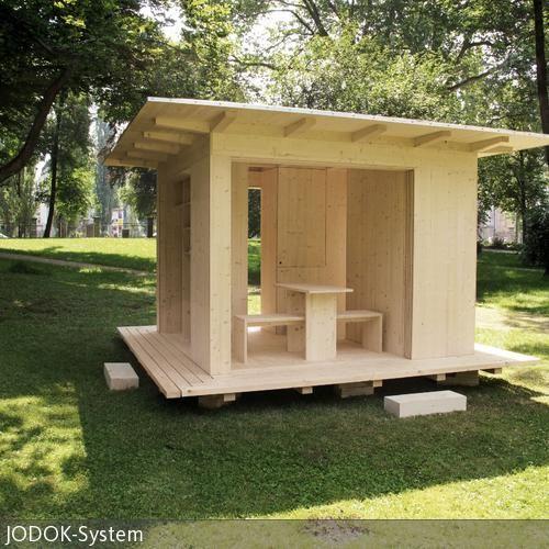 jodok system gartenhaus pinterest garten gartenhaus und haus. Black Bedroom Furniture Sets. Home Design Ideas