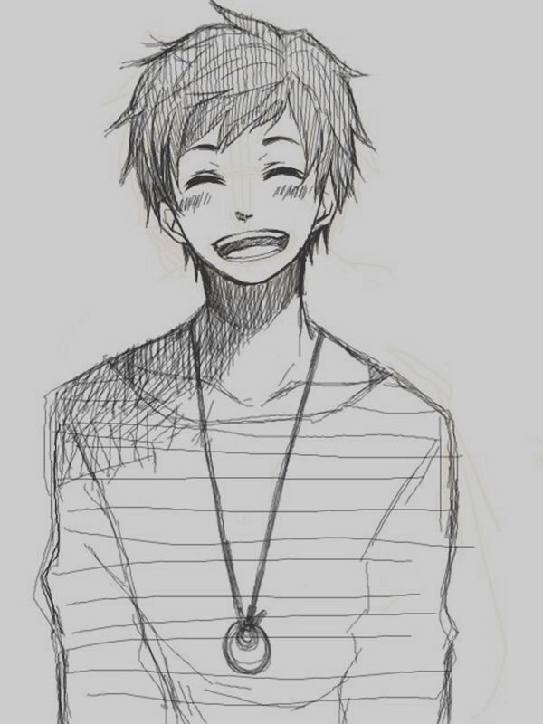 40 Amazing Anime Drawings And Manga Faces Anime Boy Sketch