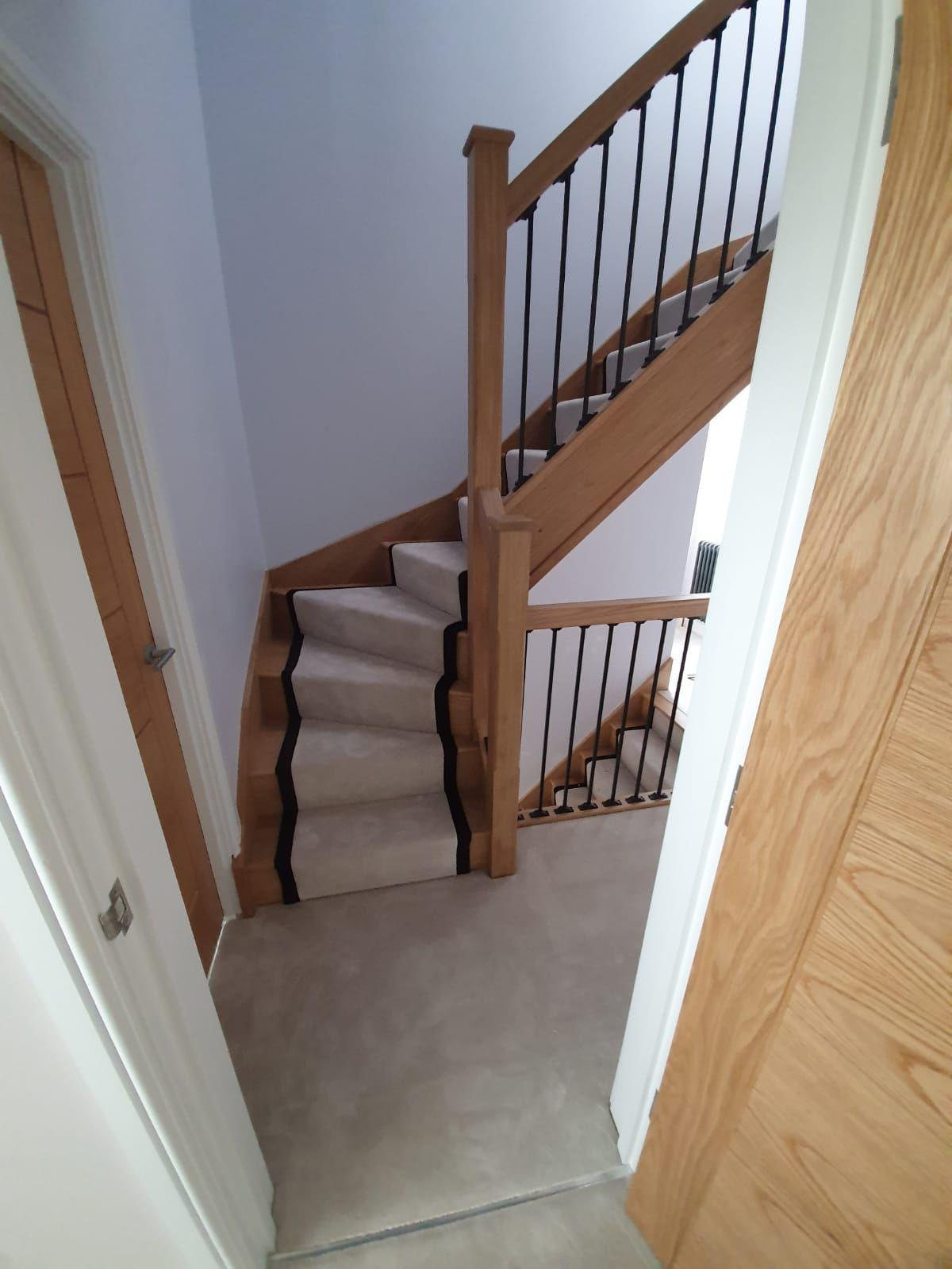 Best White Carpet Runner Fitted In Balham White Carpet Stair 400 x 300