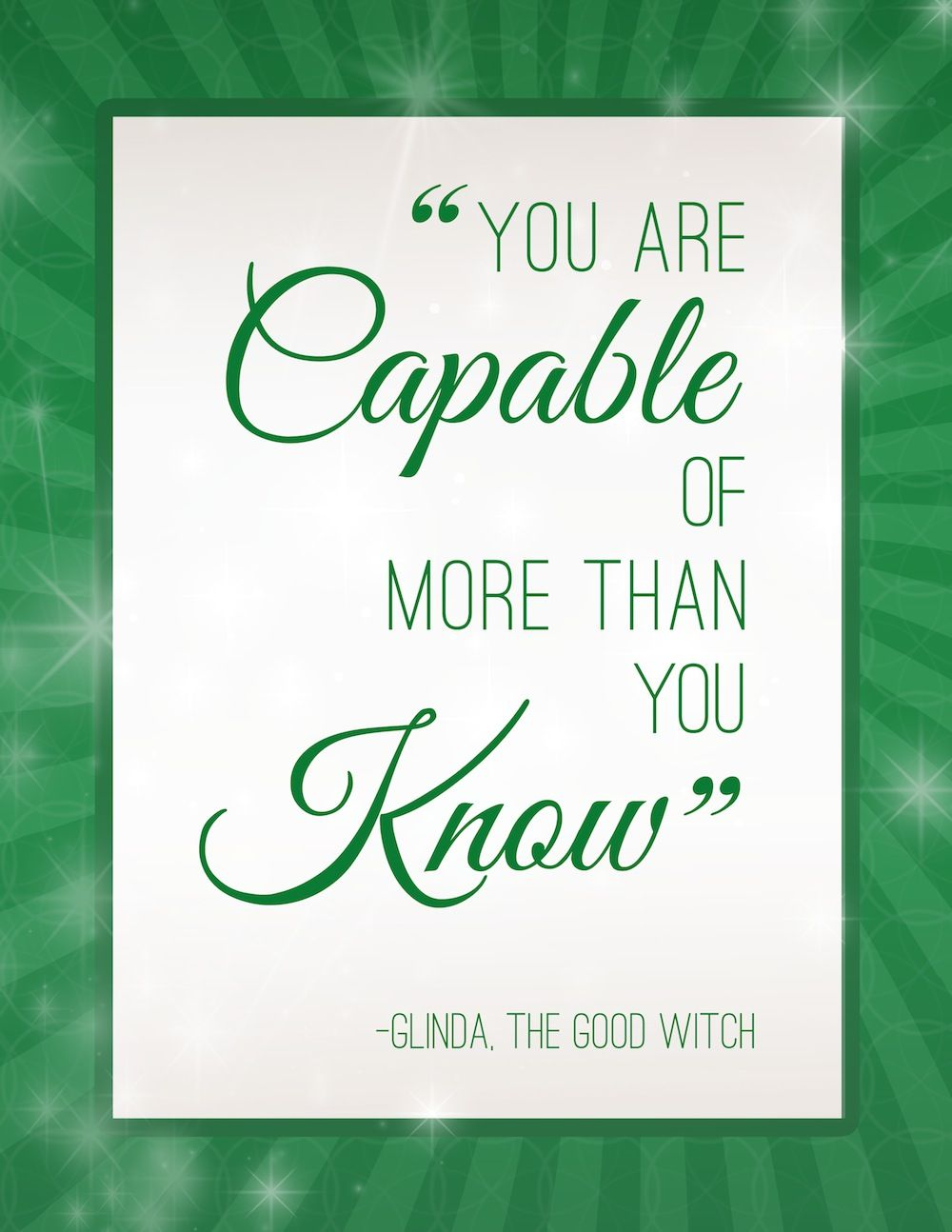 Wizard of oz quotes - Studio 5 Oz Inspiration For The Home Wicked Quoteswizard