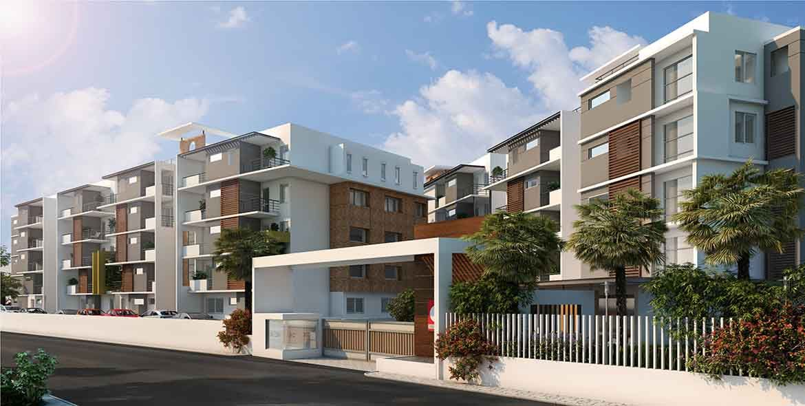 Buy 2/3 BHK flat in Bangalore at Chartered Hummingbird ...