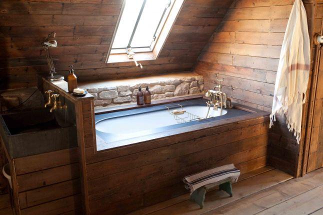 cozy bathtube