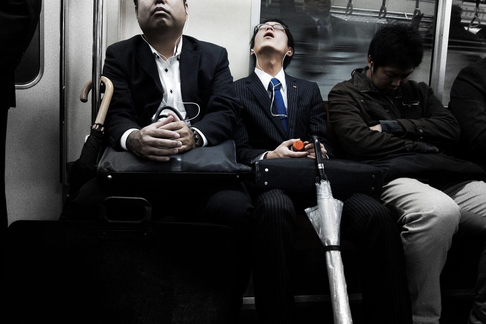 Solo on the Subway -Japan- by Shih-wen Cheng / 500px