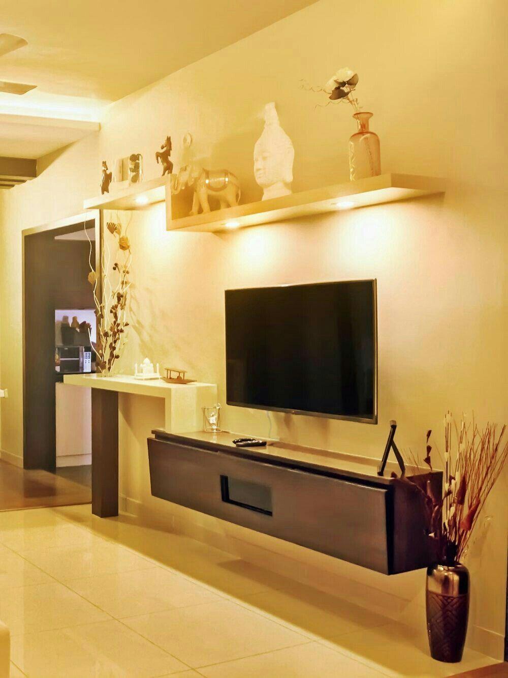 Pinnamrata Shanbhogue On Home Ideas  Pinterest  Tv Walls Tv Inspiration Dining Room Wall Units Inspiration Design
