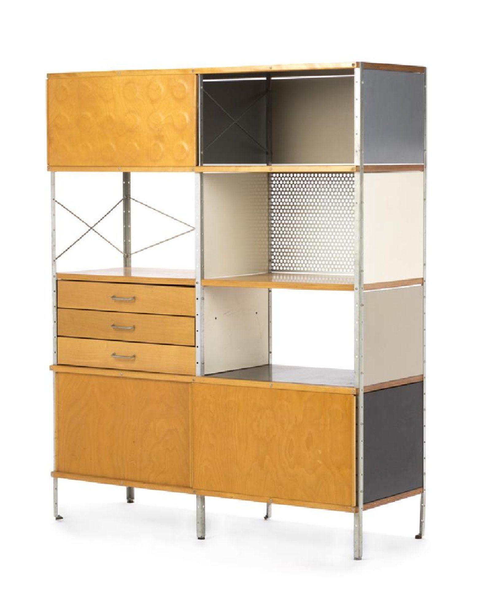 An Eames for Herman Miller modular storage cabinet  sc 1 st  Pinterest & An Eames for Herman Miller modular storage cabinet | Diseño danés ...