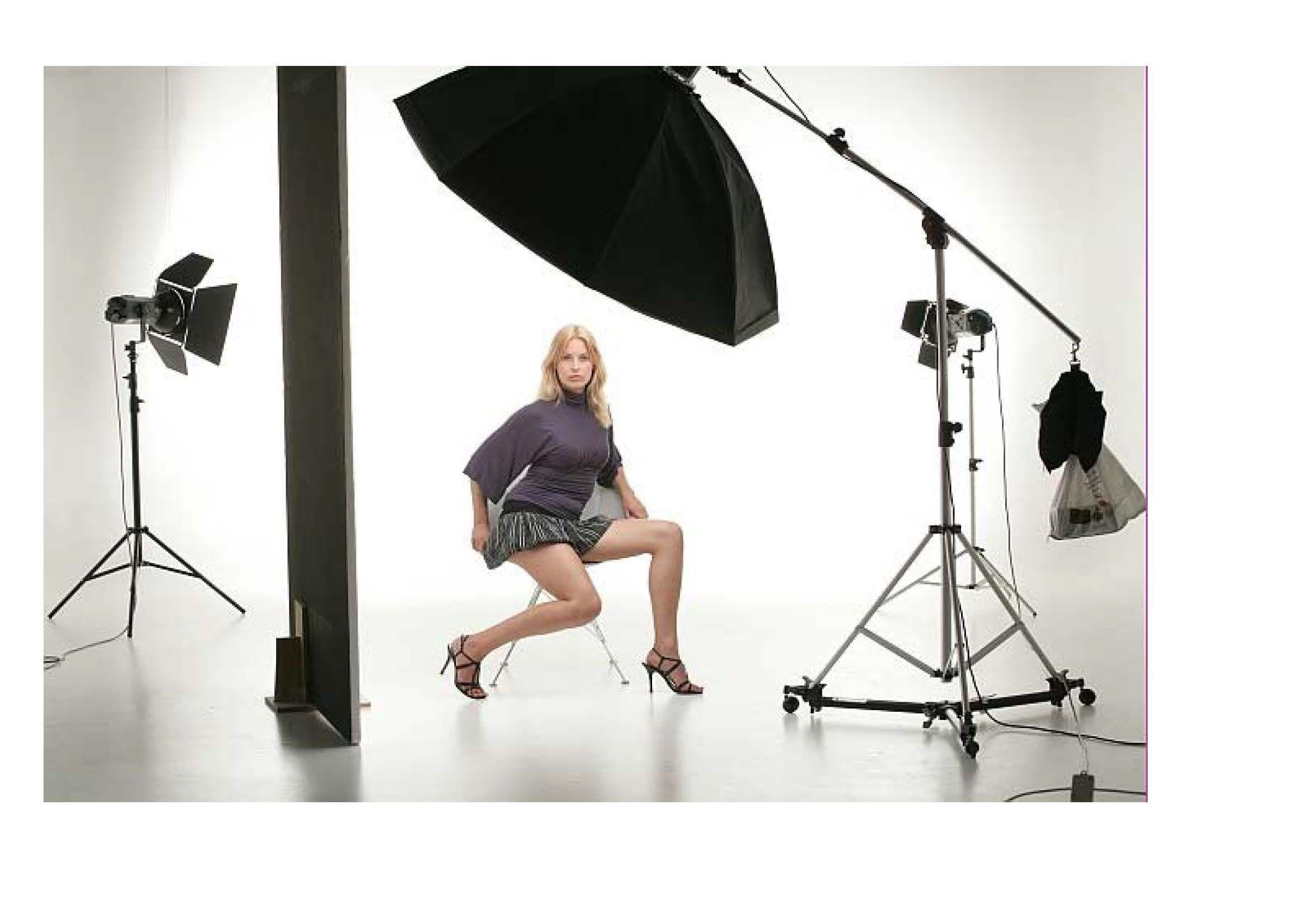 подвижной фотосъемка на модели октабокс одежды горных