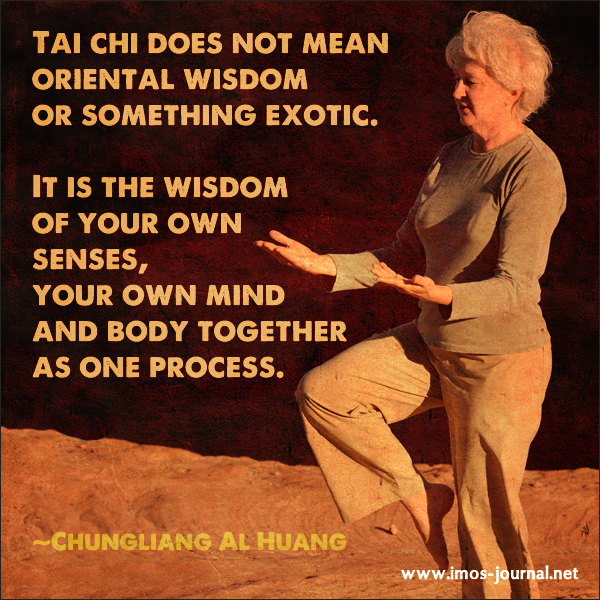 Tai Chi is wonderful for reducing stress, healing pain and ...