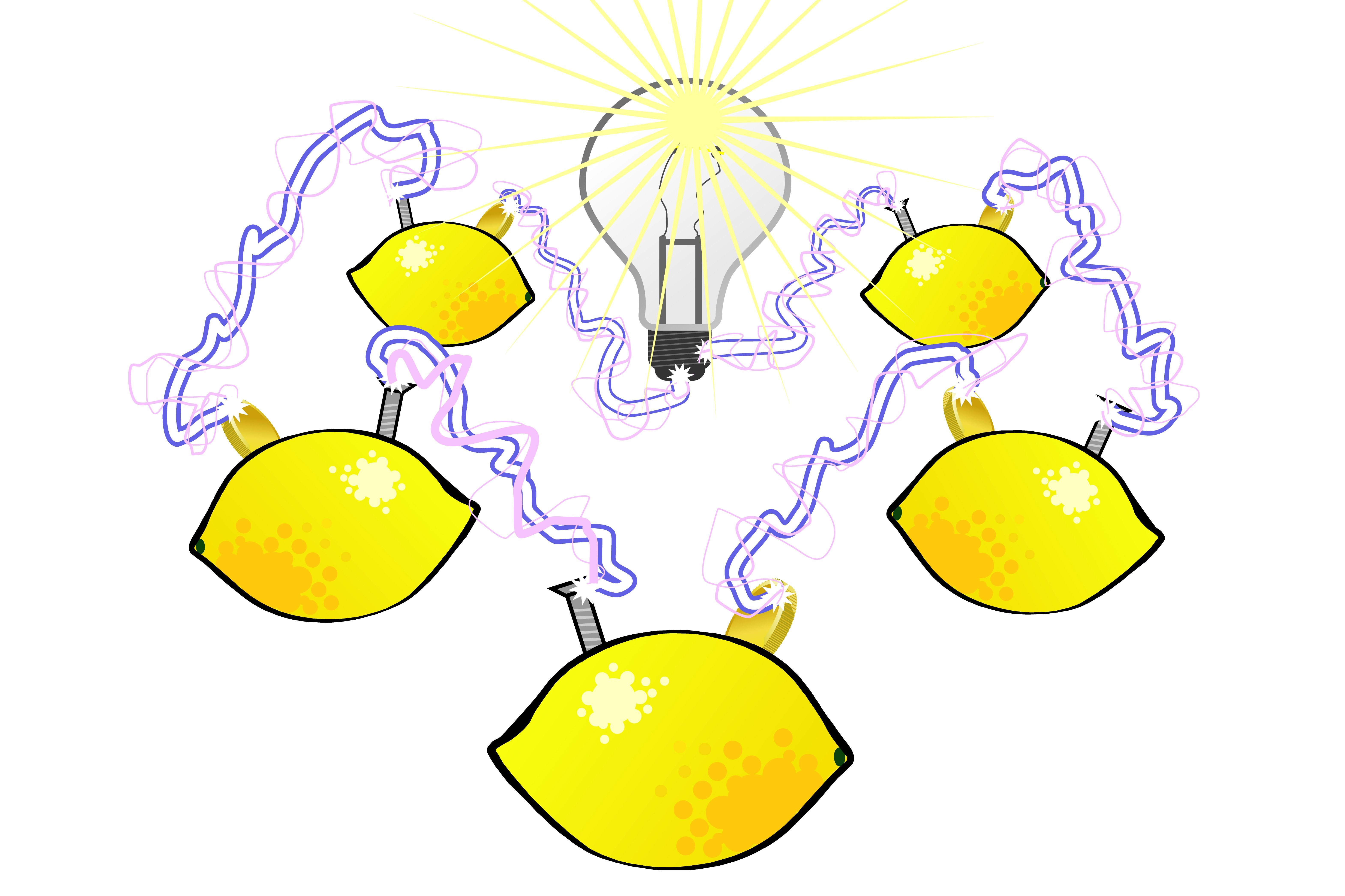 This how to make a lemon battery tutorial is perfect for a science ...