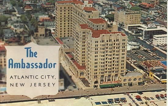 The Ambassador Hotel Atlantic City Nj Atlantic City Atlantic City Boardwalk City