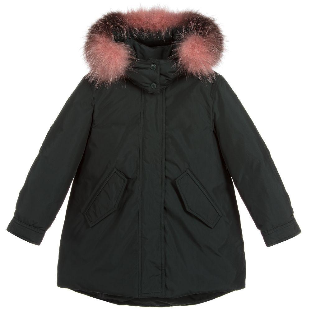 3d9a9bba2 Girls HIHIURA Down Filled Coat
