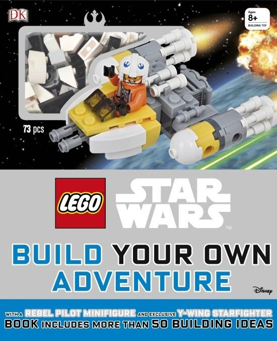 LEGO Star Wars: Build Your Own Adventure http://oombawkadesigncrochet.com/2016/09/lego-star-wars-build-your-own-adventure.html