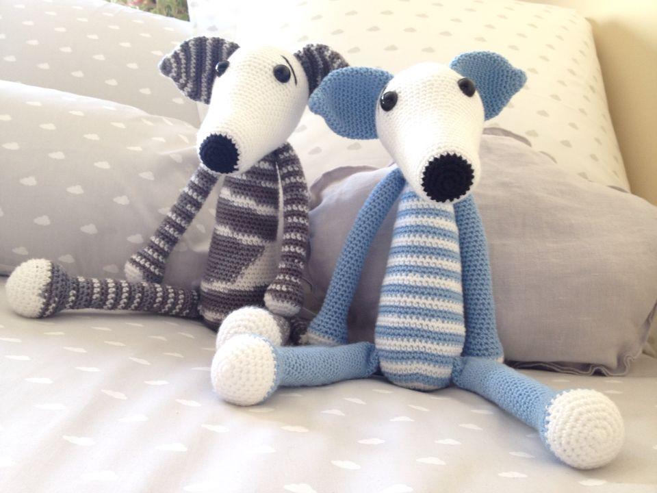 Amigurumi galgo | Crochet | Pinterest | Galgos, Patrones amigurumi y ...