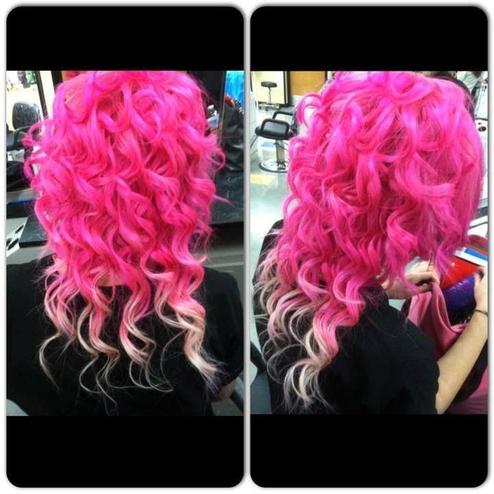 Veronicas Pink Ombre Hair Ideas Id Like To Try Pinterest