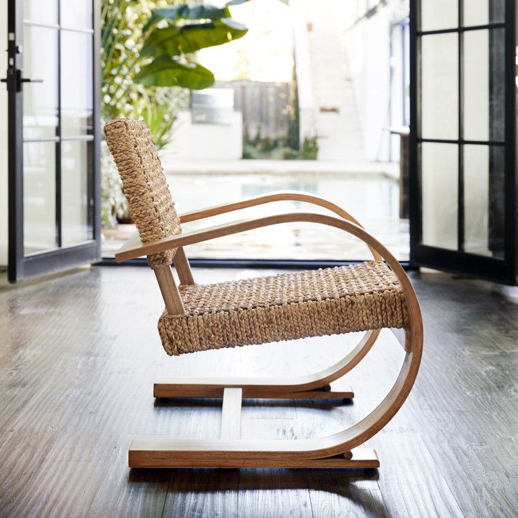French modernist armchair in 2020 chair design wooden