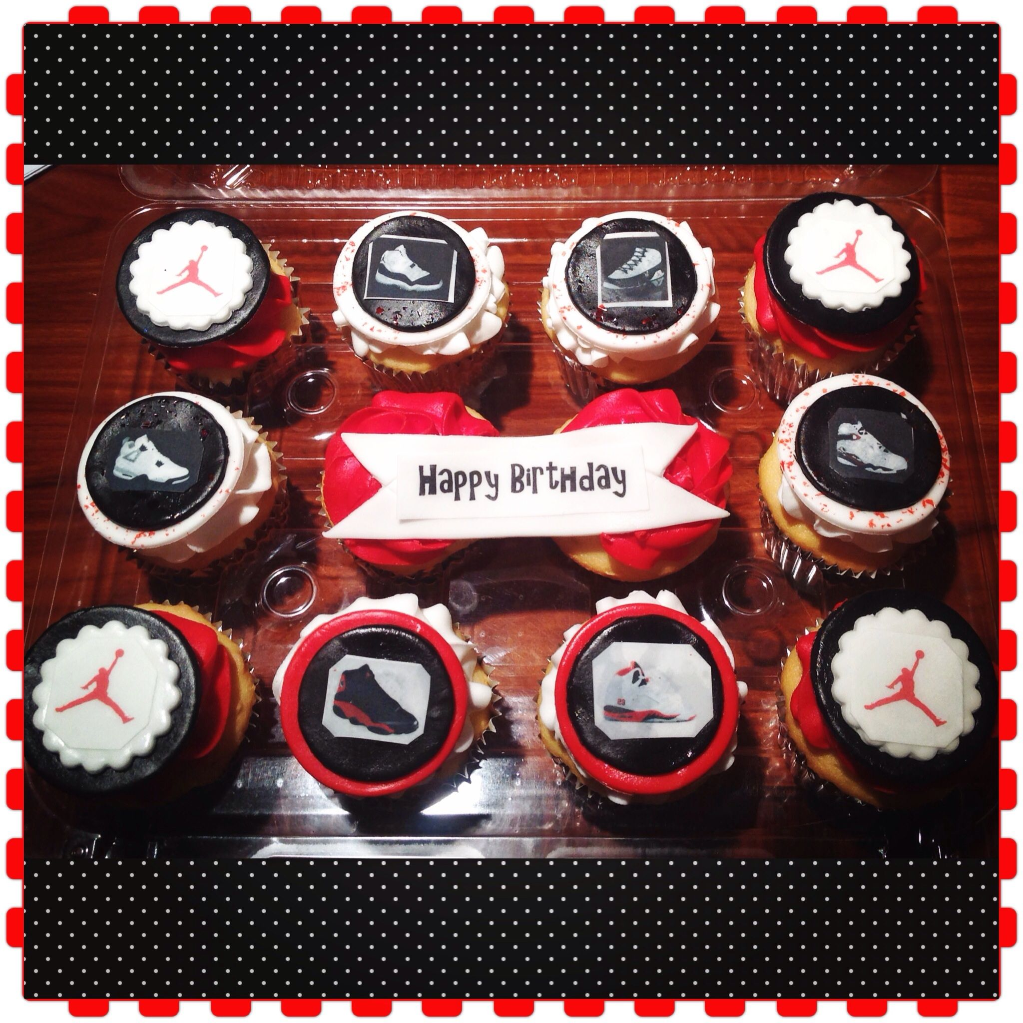 Air Jordan Cupcakes