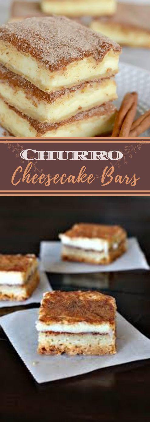 Churro Cheesecake Bars Pinterest