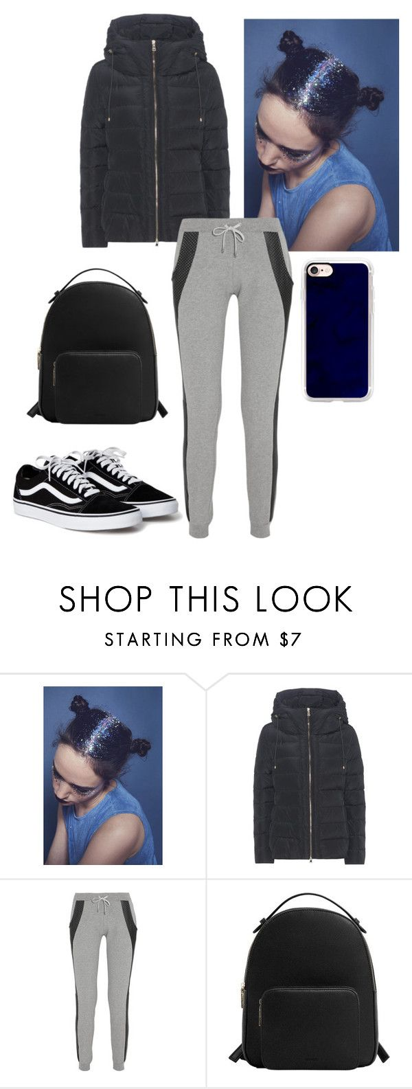 """""""Untitled #209"""" by shofinuraini ❤ liked on Polyvore featuring Moncler, Lot78, MANGO and Casetify"""