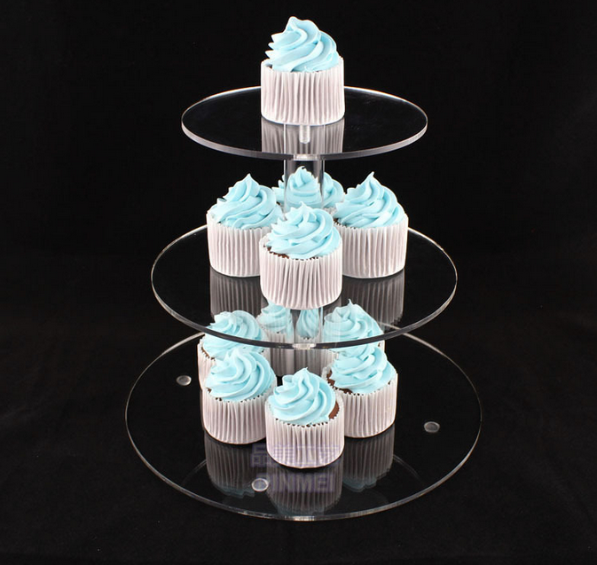 3 Tiers Highly Transparent Acrylic Cupcake Cake Stands Oem Is Welcome Email Lewisexportdep 163 Acrylic Cake Stands Cupcake Stand Wedding Acrylic Cupcake Stand