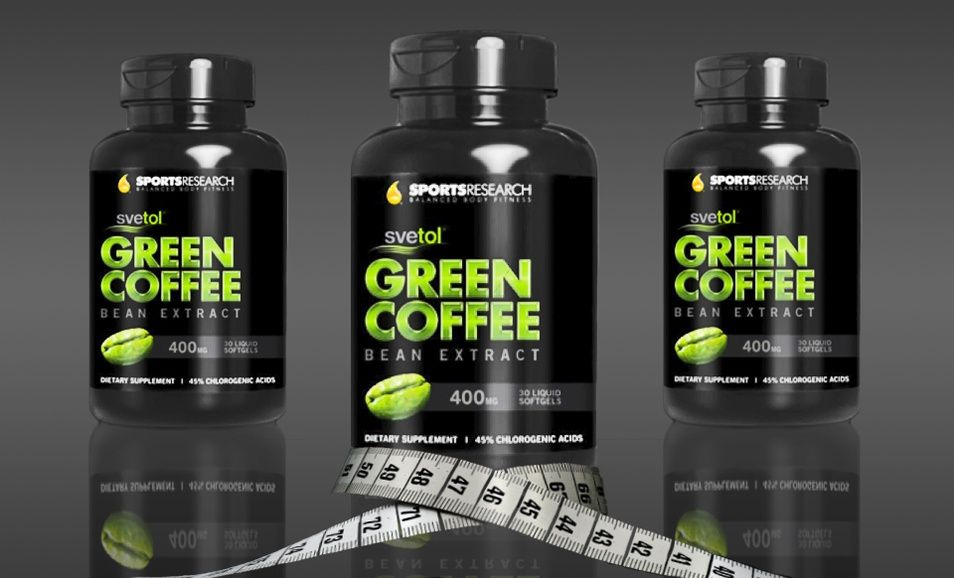 One, Two, or Three Bottles of Sports Research Green Coffee ...