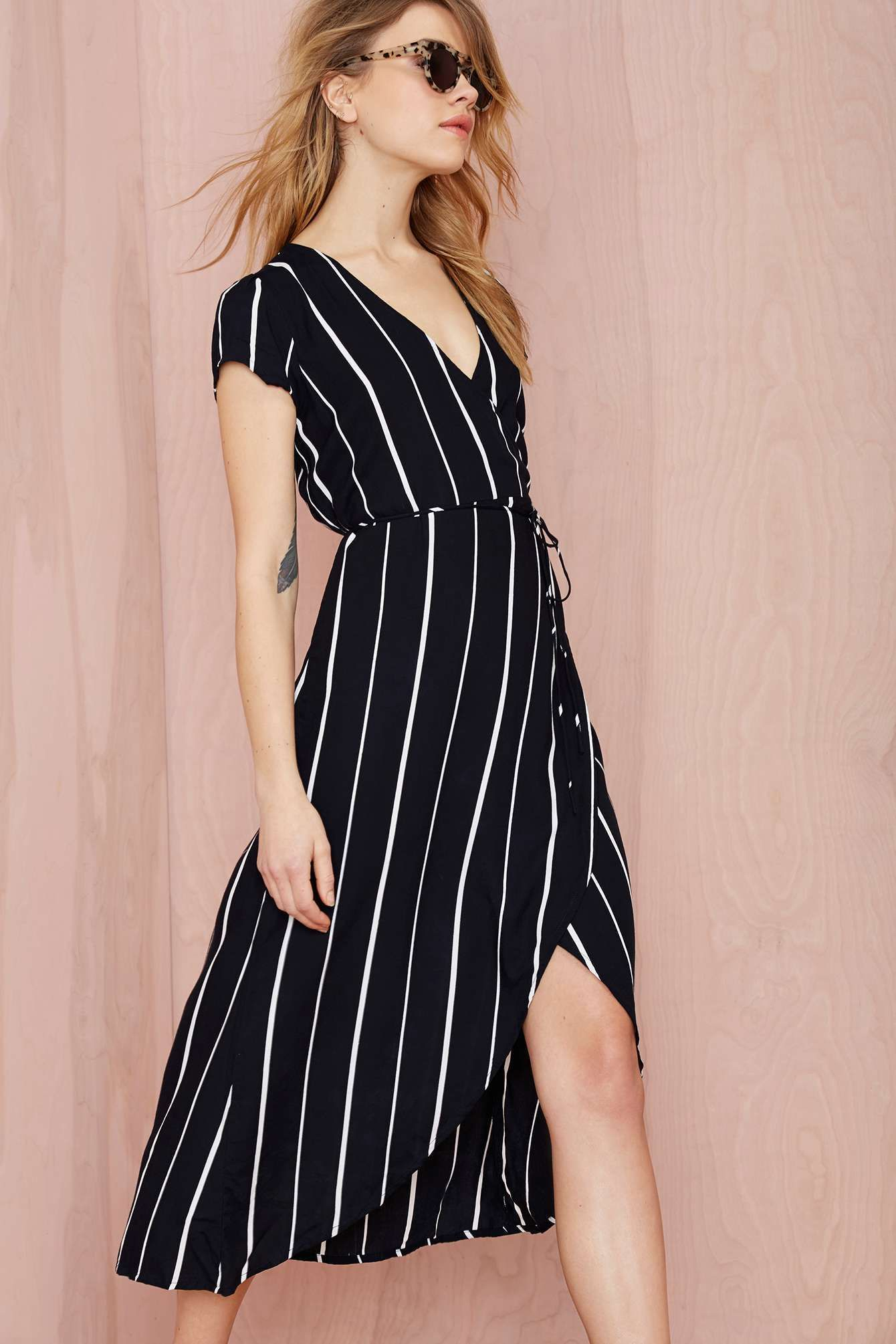 Faithfull Lulu Wrap Dress | Fashion | Pinterest | Vestiditos, Locos ...
