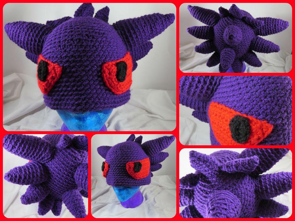 Pokemon Gengar Hat | HATS 4 KIDS | Pinterest | Gorro tejido y Tejido