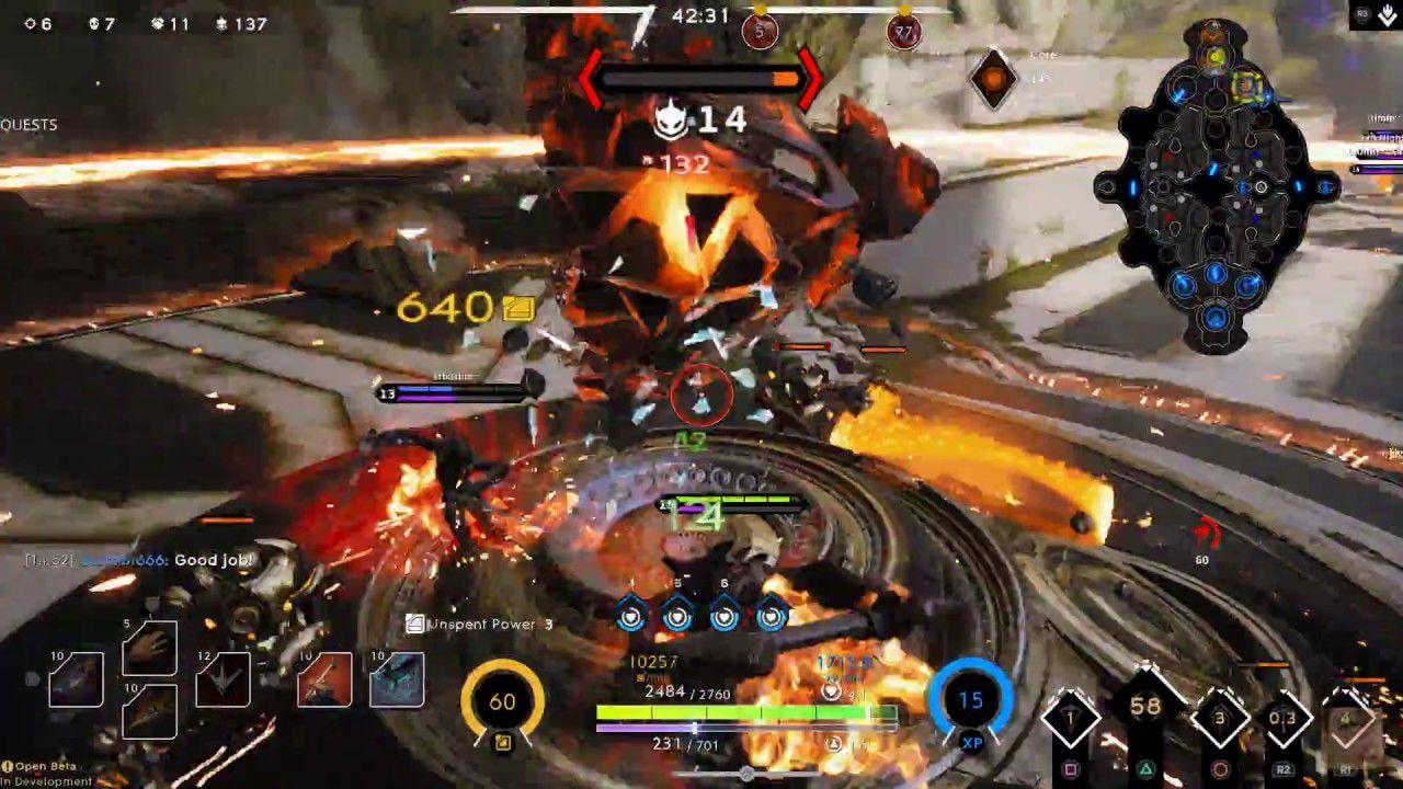 Paragon PS4 (Open Beta) Gameplay Part 536 Hero-Grux Vic