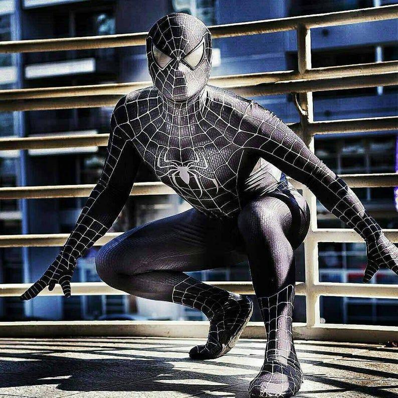 Raimi Spider-man Body Spiderman Cosplay Costume Pour Adultes /& Enfants Halloween
