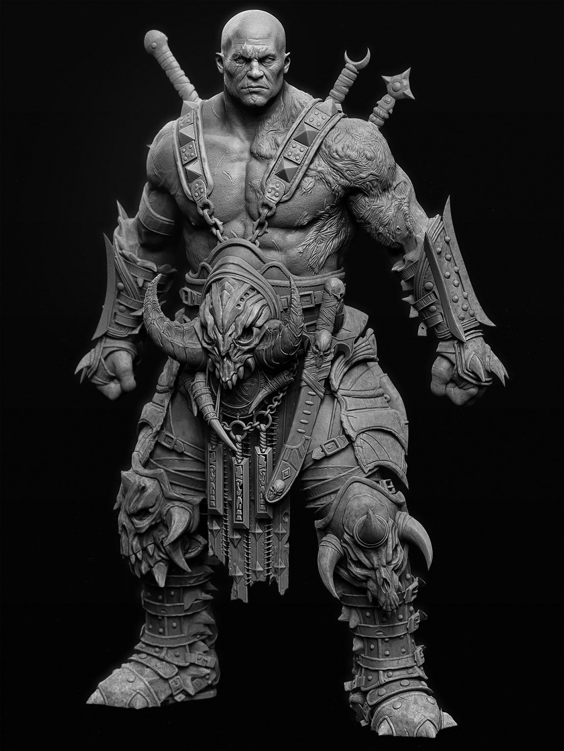 c89d464d2f2 Barbarian 3D Breakdowns by by Igor Catto IGOR CATTO is a character artist  from São Paulo, Brazil. In