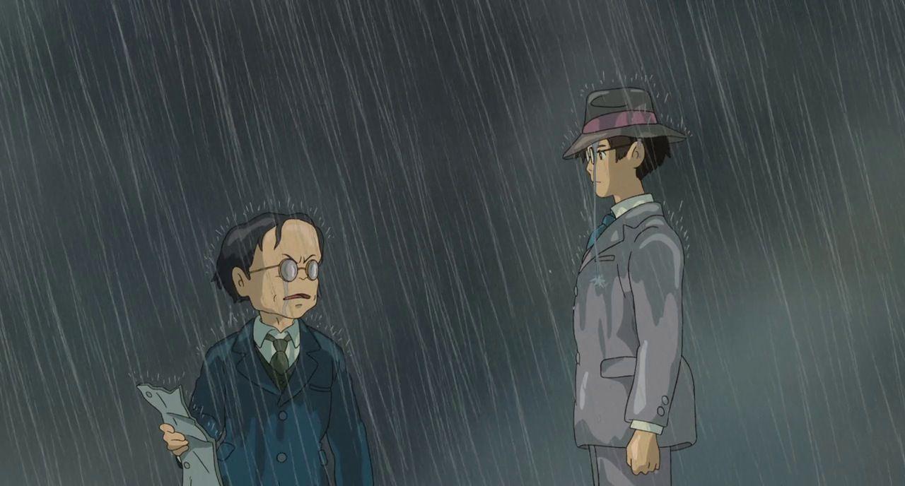 Jiro And Kurokawa The Wind Rises Studio Ghibli Wind Rises Ghibli