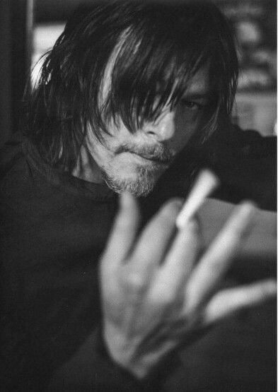 Norman Reedus from so it goes photo shoot