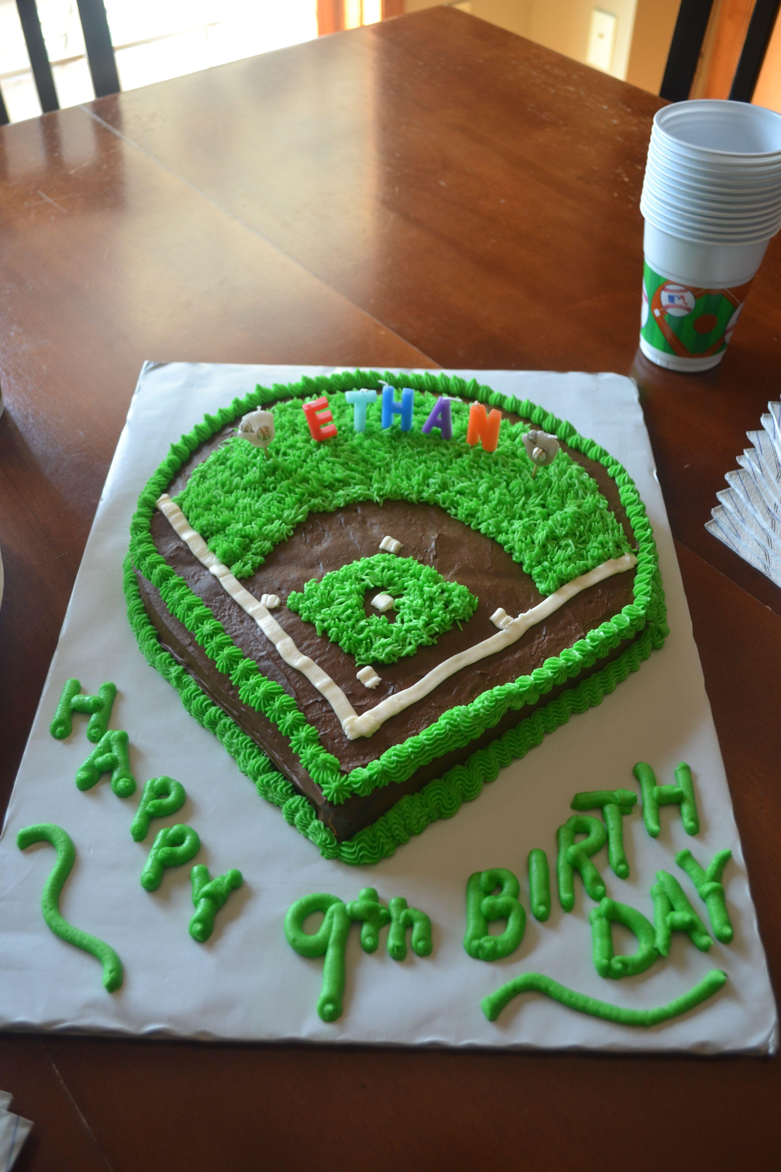 Baseball diamond cake | Cakes, Pies & Cheesecakes ...