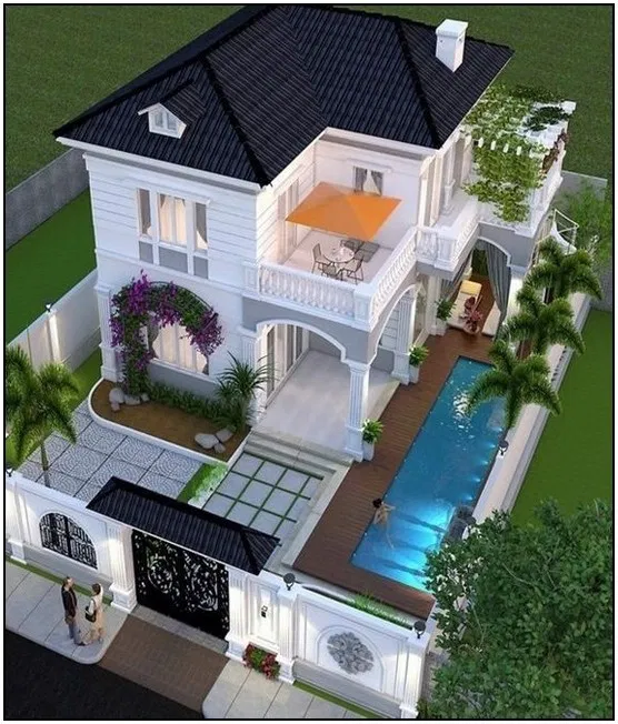 167 Dream House Interior Design Ideas To Inspire You Page 33 House Plans Mansion House Front Design House Designs Exterior